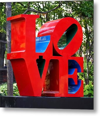 The Look Of Love Metal Print by Rona Black