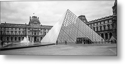 The Louvre  Metal Print by Steven  Taylor