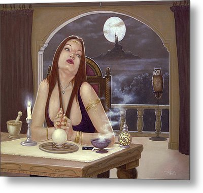 The Love Spell Metal Print by John Silver