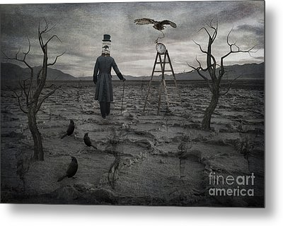 The Magician Metal Print by Juli Scalzi