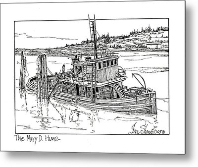 The Mary D. Hume Metal Print by Ira Shander