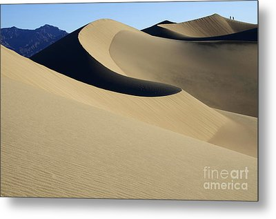 The Mesquite Dunes Of California Metal Print by Bob Christopher