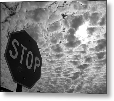 The Message Metal Print by Glenn McCarthy Art and Photography