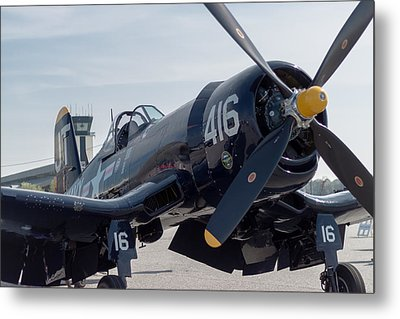 The Mighty Corsair Metal Print by Brandon Hussey