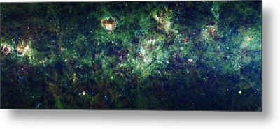 The Milky Way Metal Print by Adam Romanowicz