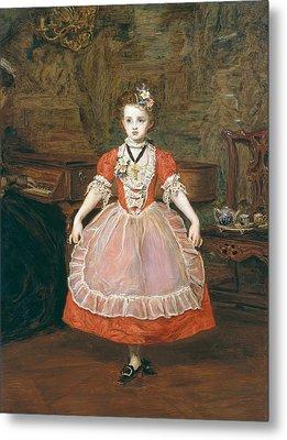 The Minuet  Metal Print by Sir John Everett Millais