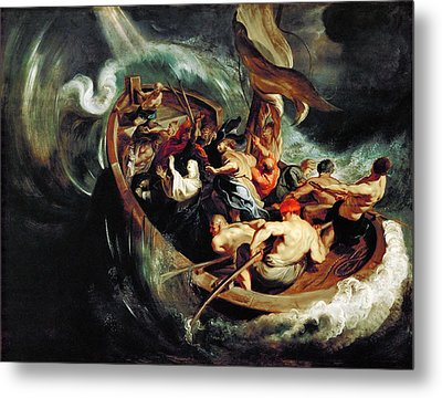 The Miracle Of Saint Walburga Metal Print by Peter Paul Rubens