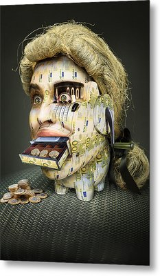 The Miser Molier Metal Print by Ddiarte