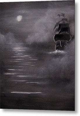The Mist Metal Print by Eugene Budden