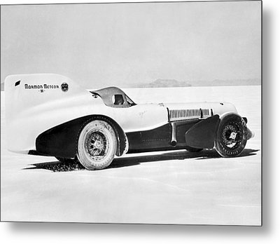 The Mormon Meteor Race Car Metal Print by Underwood Archives