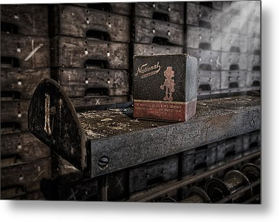 The National Screw Metal Print by Susan Candelario