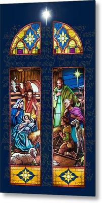 The Nativity Metal Print by Jean Hildebrant