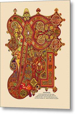 The New Chi Rho Metal Print by Martin Brockhaus