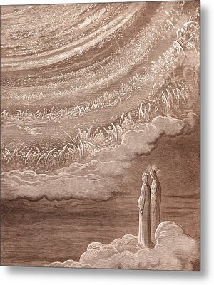 The Ninth Heaven Metal Print by Gustave Dore