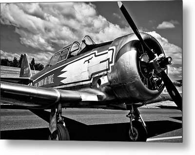 The North American T-6 Texan Metal Print by David Patterson