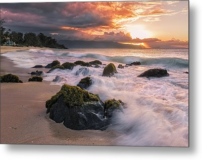 The North Shore Of Maui Metal Print by Hawaii  Fine Art Photography