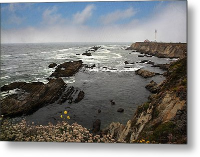 The Ocean's Call Metal Print by Laurie Search