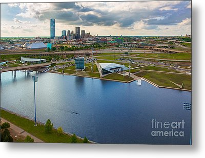 The Oklahoma River Metal Print by Cooper Ross
