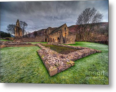 The Old Abbey Metal Print by Adrian Evans