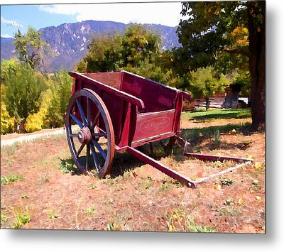 The Old Apple Cart Metal Print by Glenn McCarthy Art and Photography