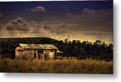 The Old Barn Metal Print by Marvin Spates