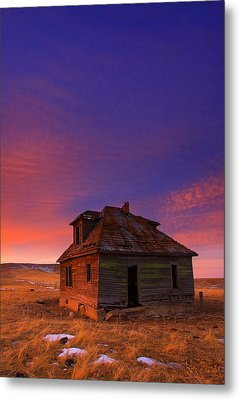The Old House Metal Print by Kadek Susanto