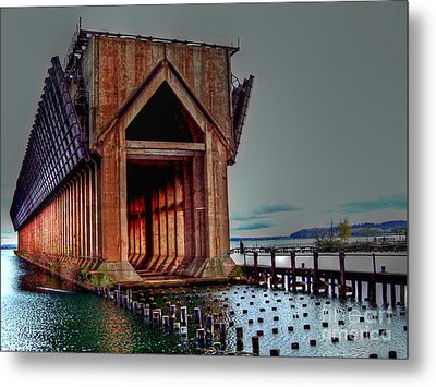 The Ore Is Gone . . . Metal Print by MJ Olsen