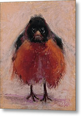 The Original Angry Bird Metal Print by Billie Colson