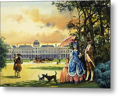 The Palace Of The Tuileries Metal Print by Andrew Howat