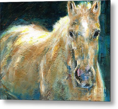 The Palomino Metal Print by Frances Marino