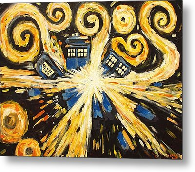 The Pandorica Opens Metal Print by Sheep McTavish