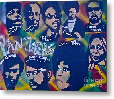 The Panthers Metal Print by Tony B Conscious