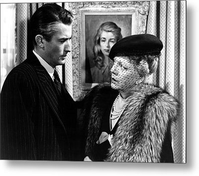 The Paradine Case, From Left, Gregory Metal Print by Everett