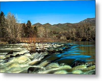 The Payette River Metal Print by Robert Bales