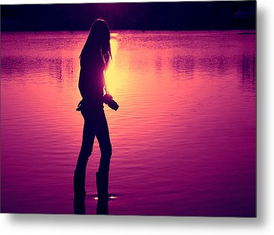 The Photographer Metal Print by Laura Fasulo