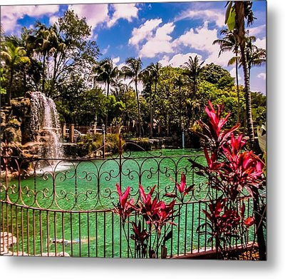 The Place To Relax Metal Print by Zina Stromberg