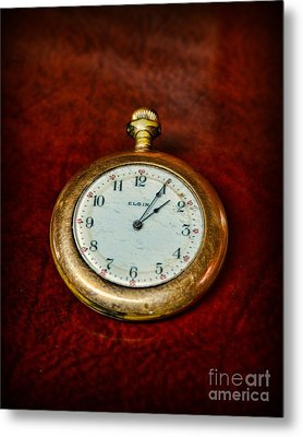 The Pocket Watch Metal Print by Paul Ward