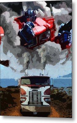 The Power Of Leadership Metal Print by Daniel Clark