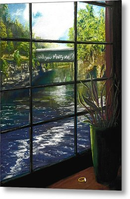 The Proposal Metal Print by Bob Northway