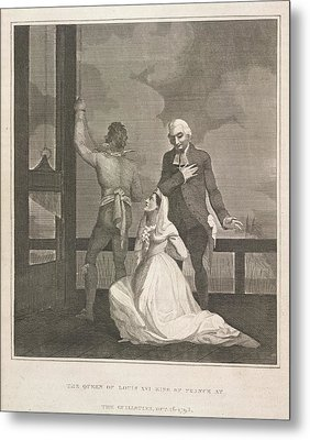 The Queen Of Louis Xvi Metal Print by British Library