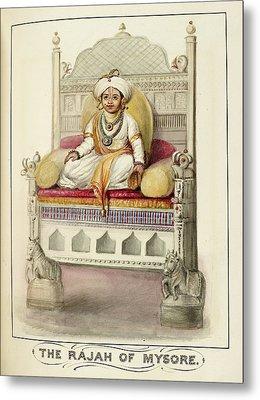 The Rajah Of Mysore Metal Print by British Library