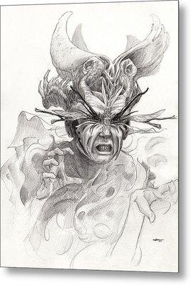 The Rascal Metal Print by Ethan Harris