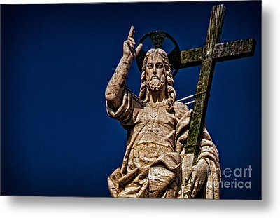 The Redeemer Metal Print by Jaymes Williams