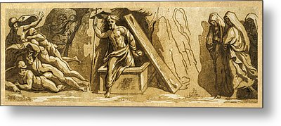 The Resurrection Metal Print by Aged Pixel
