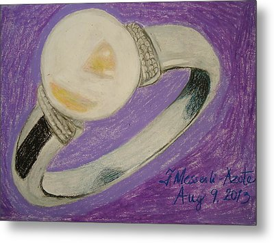 The Ring Metal Print by Fladelita Messerli-