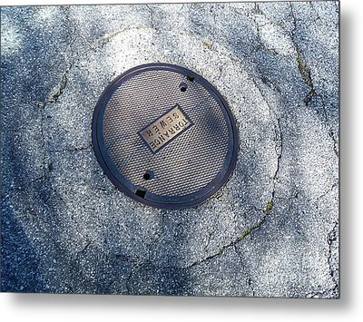 The Ripples Metal Print by Fei A