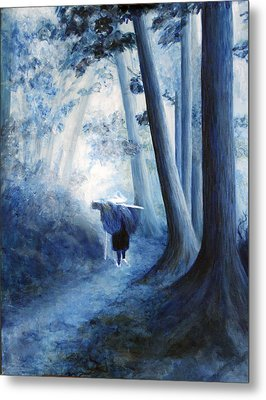 The Road Home Metal Print by Donna Walsh