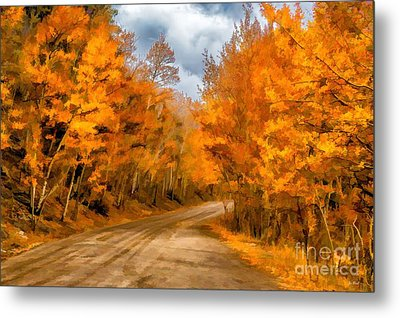 The Road Less Traveled Metal Print by Jon Burch Photography