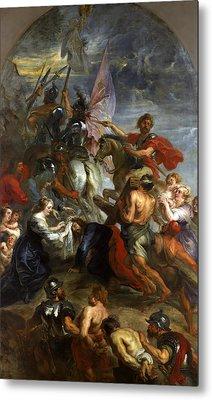 The Road To Calvary Metal Print by Peter Paul Rubens