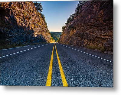 The Road To Utopia Metal Print by Jeffrey W Spencer